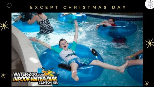 Water-Zoo Clinton, OK - Christmas 2017 and New Year Schedule