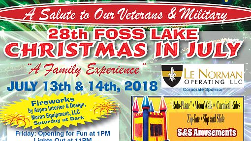 Christmas in July Fair 7/13, 14